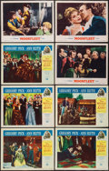 "Movie Posters:Adventure, The World in His Arms & Other Lot (Universal International,1952). Lobby Cards (8) (11"" X 14""). Adventure.. ... (Total: 8Items)"