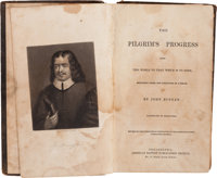 Reverend Robert James, Father of Jesse and Frank: His Signed Copy of an 1844 Printing of John Bunyan's Classic