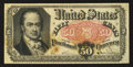 Fractional Currency:Fifth Issue, Fr. 1381 50¢ Fifth Issue Fine-Very Fine.. ...