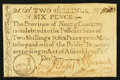 Colonial Notes:North Carolina, North Carolina December, 1771 2s6d Duck Extremely Fine.. ...