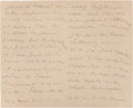 Other:European, A LETTER FROM FRENCH PAINTER, ÉDOUARD MANET (1832-1883) TO RENOIR.THE RENOIR COLLECTION. ...