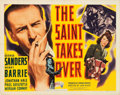 "Movie Posters:Mystery, The Saint Takes Over (RKO, 1940). Half Sheet (22"" X 28"").. ..."