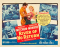 "Movie Posters:Adventure, River of No Return (20th Century Fox, R-1961). Half Sheet (22"" X28"").. ..."