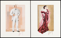 """Walter Plunkett Signed """"Gone with the Wind"""" Portfolio (Jacob/Cortum Enterprises, 1975). Signed and Numbered Po..."""