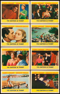 "To Catch a Thief (Paramount, 1955). Lobby Card Set of 8 (11"" X 14""). ... (Total: 8 Items)"
