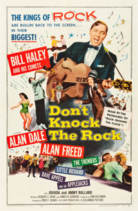 "Don't Knock the Rock (Columbia, 1957). One Sheet (27"" X 41"")"