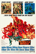 """Movie Posters:War, The Dirty Dozen (MGM, 1967). One Sheet (27"""" X 41"""").. ..."""