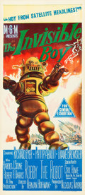 "Movie Posters:Science Fiction, The Invisible Boy (MGM, 1957). Australian Daybill (13"" X 30"").. ..."