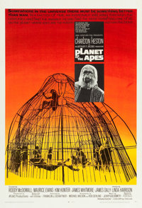 """Planet of the Apes (20th Century Fox, 1968). One Sheet (27"""" X 41"""")"""