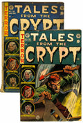 Golden Age (1938-1955):Horror, Tales From the Crypt #36 and 38 Group (EC, 1953) .... (Total: 2Comic Books)