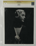 """Movie Posters:Miscellaneous, Anita Louise - Lost Hollywood Collection (undated). Still (8"""" X 10""""). Moody portrait of the star of """"The Go-Getter"""" (1937, W..."""