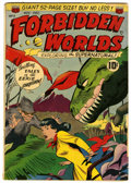 Golden Age (1938-1955):Science Fiction, Forbidden Worlds #3 (ACG, 1951) Condition: VG/FN....