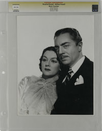 """Black Chamber/Rendezvous - Culver Pictures (MGM, 1935). Still (9.5"""" X 12.5""""). Rosalind Russell and William Pow..."""
