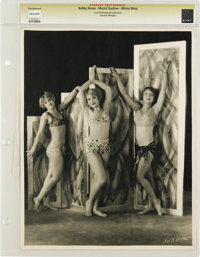 "Bobby Renee, Muriel Gardner, Wilma Wray - Lost Hollywood Collection (c.1929). Still (11"" X 14""). More than lik..."