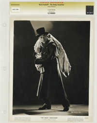 "The Body Snatcher - Culver Pictures (RKO, 1945). Still (8"" X 10""). This staged but still effective photo of Bo..."