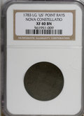 1783 COPPER Nova Constellatio Copper, Pointed Rays, Large US XF40 NGC. . NGC Census: (0/0). PCGS Population (16/26). (#8...