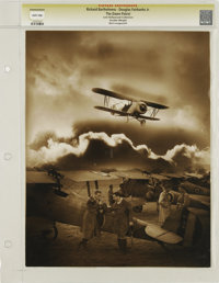 "The Dawn Patrol - Lost Hollywood Collection (First National, 1930). Still (10.5"" X 13.5""). Beautiful wide-shot..."