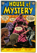 Golden Age (1938-1955):Horror, House of Mystery #6 (DC, 1952) Condition: GD/VG....