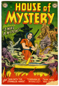Golden Age (1938-1955):Horror, House of Mystery #5 (DC, 1952) Condition: VG-....
