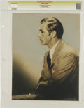 """Movie Posters:Miscellaneous, Gary Cooper - Lost Hollywood Collection (undated). Still (10"""" X 13""""). Gary Cooper by Eugene Robert Richee. Photographer ..."""