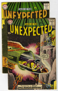 Silver Age (1956-1969):Horror, Tales of the Unexpected #41 and 43 Group (DC, 1959).... (Total: 2Comic Books)