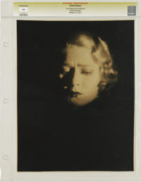 "Greta Nissen - Lost Hollywood Collection (undated). Still (10.5"" X 13.5""). Greta Nissen by Melbourne Spurr. Ph..."