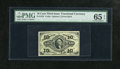 Fractional Currency:Third Issue, Fr. 1255 10c Third Issue PMG Gem Uncirculated 65 EPQ....