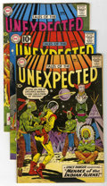 Silver Age (1956-1969):Horror, Tales of the Unexpected Group (DC, 1963-66) Condition: AverageFN-.... (Total: 10 Comic Books)