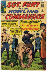 Sgt. Fury and His Howling Commandos #5 (Marvel, 1964) Condition: VG-
