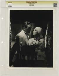 """The Painted Veil - Culver Pictures (MGM, 1934). Still (10"""" X 13""""). Greta Garbo warns George Brent """"You sh..."""