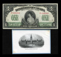 Canadian Currency: , DC23a-i $1 1917. ... (Total: 2 items)