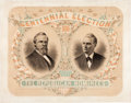 Political:3D & Other Display (pre-1896), Hayes & Wheeler: Glorious Jugate Poster....