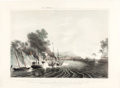 "Antiques:Posters & Prints, Henry Walke, Lithograph, ""The Capture of the City of Tabasco, Bythe U.S. Naval Expedition, Afloat and on Shore, Under Comore...."