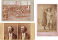 Photography:Cabinet Photos, Group of Three Wild West Show Actors' Photographs.... (Total: 3Items)