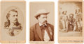 Photography:CDVs, Group of Three Western Cartes de Visite.... (Total: 3 Items)