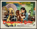 "Movie Posters:Adventure, Dangerous Exile and Others Lot (Rank, 1957). Half Sheets (3) (22"" X28"") Style B. Adventure.. ... (Total: 3 Items)"