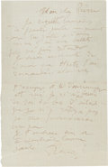 Paintings, A LETTER FROM RENOIR AND HIS SON, JEAN TO RENOIR'S ELDEST SON, PIERRE . THE RENOIR COLLECTION. ...