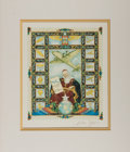 Books:Prints & Leaves, Arthur Szyk. Signed Color Print Entitled, There Shall BeWings. Bilkeski, 1947. Measures approx. 10 x 8 inches. Matt...