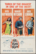"Movie Posters:Adventure, Fire Down Below (Columbia, 1957). One Sheet (27"" X 41"") & LobbyCard Set of 8 (11"" X 14""). Adventure.. ... (Total: 9 Items)"