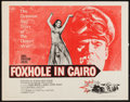 """Movie Posters:War, Foxhole in Cairo and Others Lot (Paramount, 1961). Half Sheets (4)(22"""" X 28""""). War.. ... (Total: 4 Items)"""