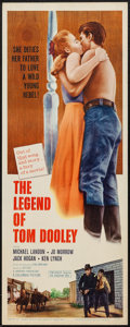 """Movie Posters:Western, The Legend of Tom Dooley and Others Lot (Columbia, 1959). Inserts (3) (14"""" X 36""""). Western.. ... (Total: 3 Items)"""