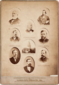 Photography:Cabinet Photos, Blaine & Logan: Multigate Mounted Albumen from Illinois....