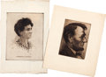 Political:Miscellaneous Political, Abraham Lincoln: Artist Signed Prints and Etchings.... (Total: 6 Items)