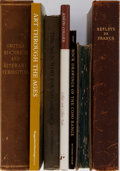 Books:Art & Architecture, [Art and Photography]. Group of Seven Books. Various editions and publishers. Five in boards and two in wrappers. About good... (Total: 7 Items)