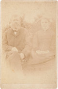 Photography:Cabinet Photos, George Noland and Wife: A Cabinet Photo of a Former QuantrillRaider. ...