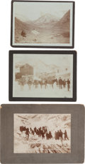 Photography:Cabinet Photos, Early Colorado Mining: Six 1890s Images with Imprint of PioneerColorado Photographer George Dalgleish.... (Total: 6 Items)