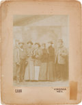 Photography:Official Photos, Virginia City, Nevada: Large, 1895-Dated, Whimsical Photograph byWilliam Cann. ...