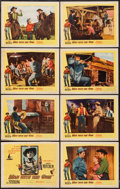 "Movie Posters:Western, Man with the Gun (United Artists, 1955). Lobby Card Set of 8 (11"" X 14""). Western.. ... (Total: 8 Items)"