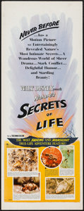 "Movie Posters:Documentary, Secrets of Life and Others Lot (Buena Vista, 1956). Inserts (5) (14"" X 36""). Documentary.. ... (Total: 5 Items)"