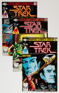 Modern Age (1980-Present):Science Fiction, Star Trek Group (Marvel/DC, 1980-85) Condition: Average NM....(Total: 28 Comic Books)